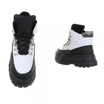 Sergio Todzi High Sneakers CB-19065-whiteblack