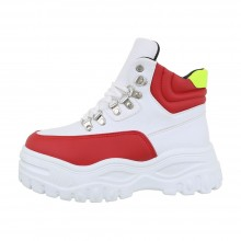 Sergio Todzi High Sneakers CB-19065-whitered