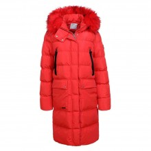 Padded quilted coat Glo-Story KL-WMA-1399-red