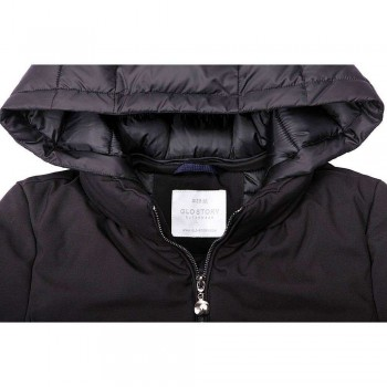 Quilted coat Glo-Story KL-WMA-9603-black