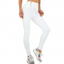 Skinny-Hose от Holala Fashion KL-DM91530-white