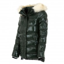 Quilted winter jacket Nature KL-RQW-6341-green