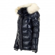 Quilted winter jacket Nature KL-RQW-6341-navy