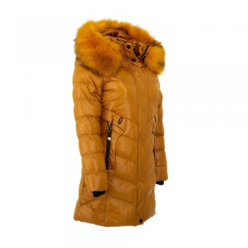 Quilted winter jacket Nature KL-RSW-6416