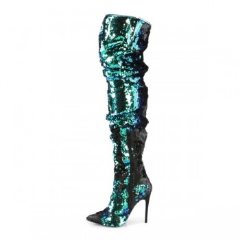 Pleaser COURTLY-3011 COURTLY3011/GRNSQ