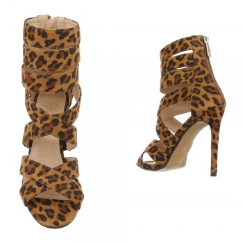 Sergio Todzi Stilettos HP-123-leopardprint