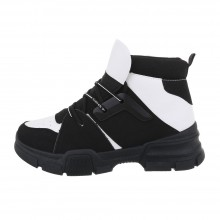 Sergio Todzi High Sneakers CB-19066-blackwhite