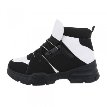 Обувки - Sergio Todzi High Sneakers CB-19066-blackwhite