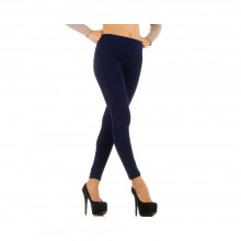 TAILLE HAUTE Fashion Leggings - DARK.BLUE