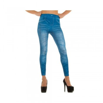 Ximanyi (Satisfied) Women's Leggings LM1018Z - Blue