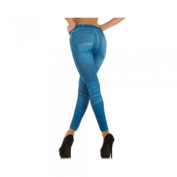 Ximanyi (Satisfied) Women's Leggings LM941Z - Blue